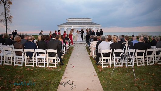 Wedding Setting Martello Photography