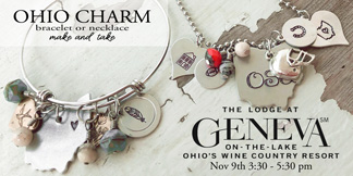 charm bracelet and necklace